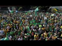تظاهرات مؤيدة للرئيس البرازيلي تحتج على الاقتراع الإلكتروني