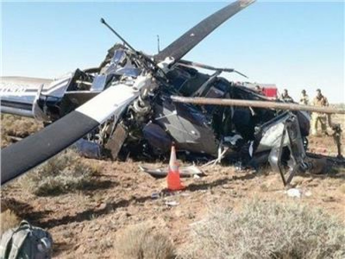 مصرع 4 أشخاص في حادث تحطم مروحية بأمريكا