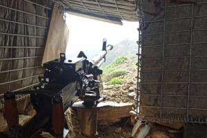 هجوم حوثي على جبهة ثرة ينتهي بانكسار
