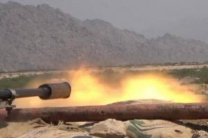استهداف مرابض مدفعية حوثية في الحديدة