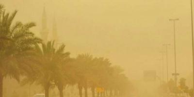 السعودية: رياح وأتربة مُثارة على الرياض