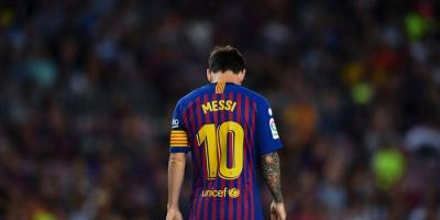 برشلونة يقرر حجب القميص رقم 10 هذا الموسم