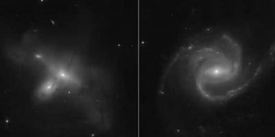 صورة لمجرة حلزونية تبعد 68 مليون سنة ضوئية عن الأرض
