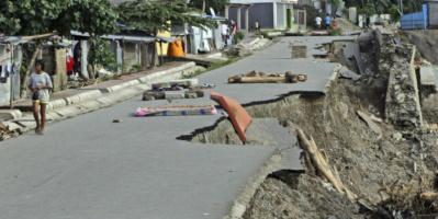 زلزال مدمر يضرب جزر ساندويتش بالمحيط الأطلسي