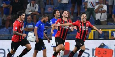 ميلان يتغلب على سامبدوريا في افتتاح الدوري الإيطالي