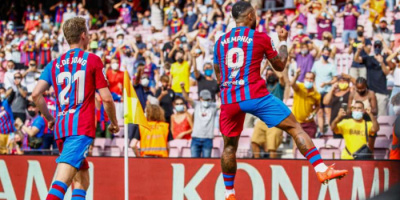 ديباي يخطف الفوز لبرشلونة من خيتافي