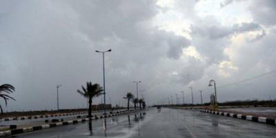 السعودية: هطول أمطار رعدية مصحوبة برياح نشطة