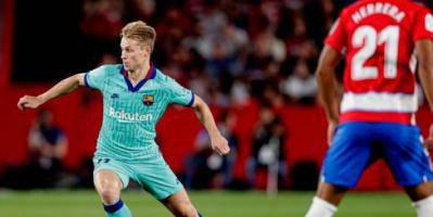 """مدرب برشلونة يعتبر دي يونج """"أخطر من نيمار"""""""