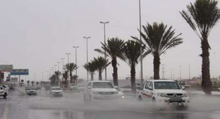 السعودية: استمرار هطول أمطار رعدية مصحوبة برياح نشطة
