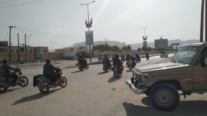 مواكب لإرهابيي القاعدة في عتق