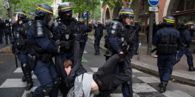 العفو الدولية تدين عنف الشرطة الفرنسية ضد المتظاهرين