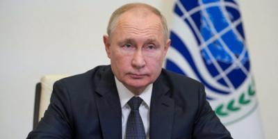 """بوتين يصف انسحاب الناتو من أفغانستان بـ""""الهروب"""""""