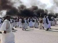 السودان: احتجاجات تغلق الطريق المؤدي لموانئ الشرق
