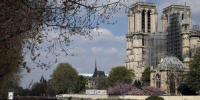 فرنسا: انتهاء أعمال تقوية هيكل كاتدرائية نوتردام المحترقة