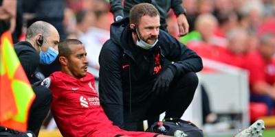 تياجو يغيب عن ليفربول بسبب إصابة في الساق