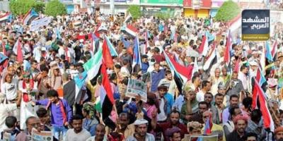 الانتقالي يصد مخططات الفوضى بالحفاظ على سلمية مظاهرات حضرموت