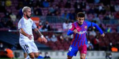 أراوخو ينقذ برشلونة من الخسارة أمام غرناطة