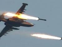 مقاتلات التحالف تدك تمركزات حوثية بشبوة