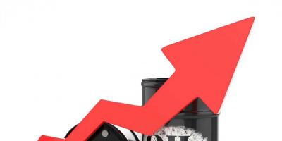 ارتفاع سعر برميل نفط خام القياس العالمي