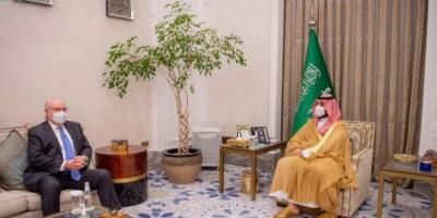 بن سلمان يلتقي ليندركينج لبحث المبادرة السعودية