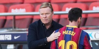"""كومان: ميسي كان """"طاغية"""" في برشلونة"""