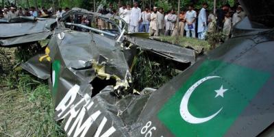 مقتل قائد طائرة تدريب عسكرية بعد تحطمها في باكستان
