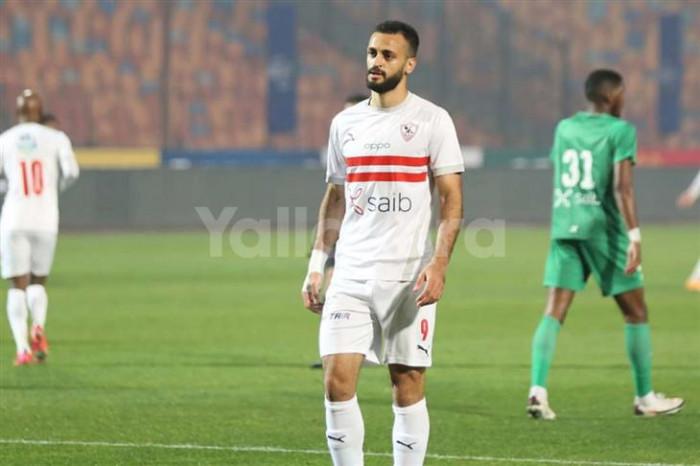 """""""قيد الزمالك"""" يؤجل مغادرة مروان حمدي"""