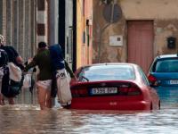 فيضانات شديدة تغمر إسبانيا