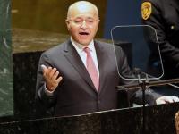 الرئيس العراقي: نواصل ملاحقة فلول داعش