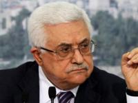 أبومازن يطالب إسرائيل بالانسحاب إلى حدود 1967