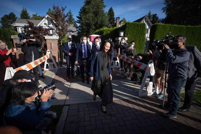 إطلاق سراح المديرة المالية لشركة هواوي منغ وانتشو