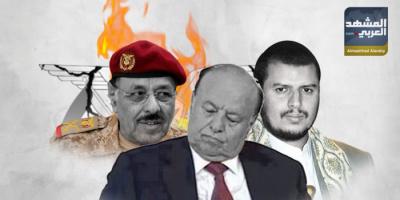 اتصالات الشرعية مع الحوثيين.. تسليم للمواقع وطعنة في ظهر القبائل