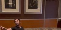 طرد نيكولاس كيدج من مطعم بعد شجاره وهو مخمور (فيديو)