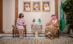 وزير الخارجية السعودي يلتقي نظيرته الليبية في الرياض