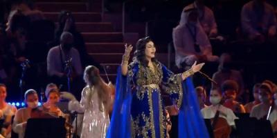 بالفيديو.. أحلام تبهر العالم في حفل افتتاح إكسبو 2020 دبي