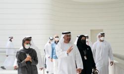 محمد بن زايد: جناح الإمارات بإكسبو صرح عظيم