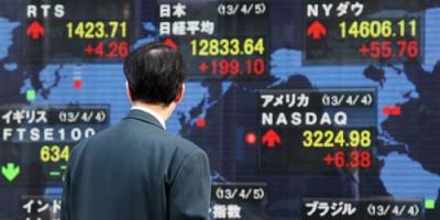 هبوط المؤشر الياباني في بداية تعاملاته ببورصة طوكيو