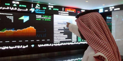 ارتفاع مؤشر الأسهم السعودية الرئيسية عند الإغلاق