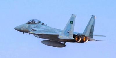 قصف موقع إطلاق مسيرة حوثية استهدفت مطار أبها