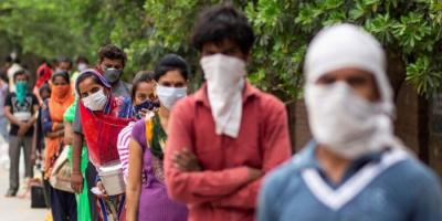 318 وفاة و22431 إصابة جديدة بكورونا في الهند