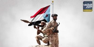 المقاومة الجنوبية تحرق طقمًا حوثيًا في بيحان