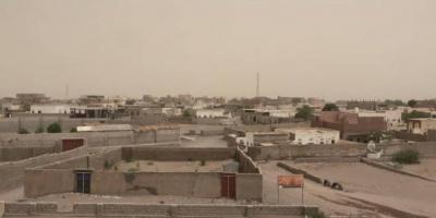 قصف حوثي على الجروبة شرق التحيتا