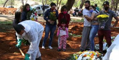 كورونا يسجل إصابات ووفيات جديدة بالبرازيل