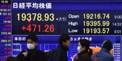 تراجع المؤشر الياباني في بداية تعاملات اليوم الإثنين