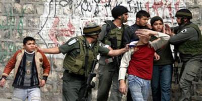 إسرائيل تعتقل 3 أطفال وشابا من فلسطين