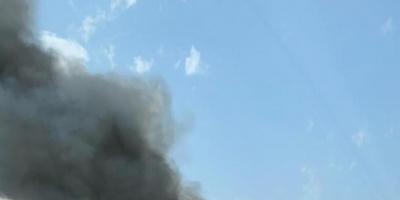 حريق ضخم في مركز مهرجان الجونة (فيديو)