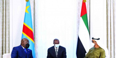 ولي عهد أبو ظبي ورئيس الكونغو يبحثان قضايا إقليمية ودولية
