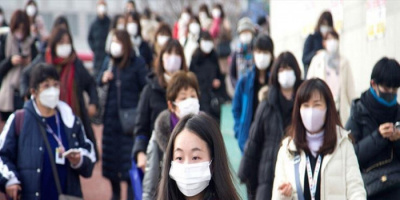 كوريا الجنوبية تسجل 1940 إصابة بكورونا
