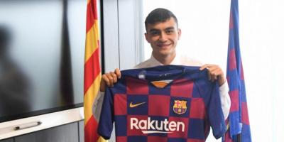 برشلونة يجدد عقد بيدري بشرط جزائي مليار يورو