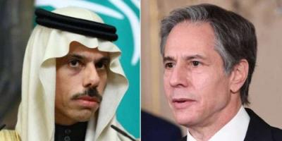 وزيرا خارجية أمريكا والسعودية يبحثان ملفي اليمن وإيران